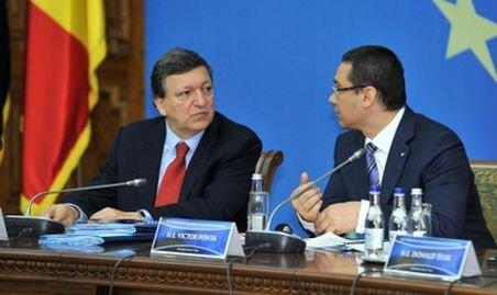 Barroso: Suntem îngrijoraţi de situaţia din România. Voi discuta azi cu premierul Ponta