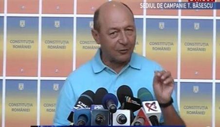 Preşedintele suspendat Băsescu: Fac un apel la români să participe la vot pe 29 iulie, indiferent care le este opţiunea