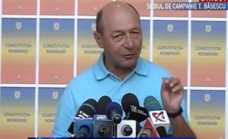 """Băsescu: Din câte ştiu eu nu am niciun dosar penal, """"Casa din Mihăileanu"""" şi """"Flota"""" fiind închise"""