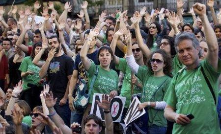 O nouă grevă generală este inevitabilă în Spania, avertizează sindicatele