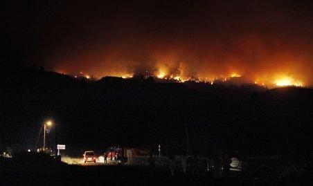 1.800 de persoane, evacuate din cauza unui incendiu, în Tenerife