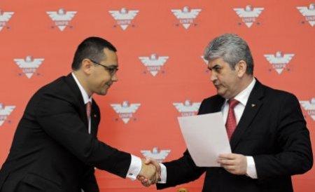 Ponta: Am discutat cu Oprea despre un singur partid de centru-stânga