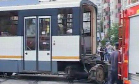 Traficul a fost reluat în zona Sebastian, după 6 ore de la accidentul de tramvai