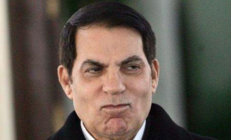 Fostul preşedinte tunisian Ben Ali, condamnat, în lipsă, la închisoare pe viaţă