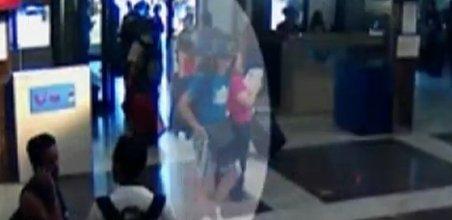 Primele imagini cu atacatorul KAMIKAZE de pe aeroportul Burgas