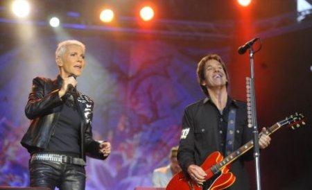 Roxette concertează diseară la Cluj. Ardelenii aşteaptă de 20 de ani acest spectacol