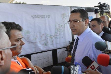 Vezi ce măsuri DRASTICE avea de gând să ia Victor Ponta dacă autostrada nu ar fi fost pusă în circulaţie astăzi