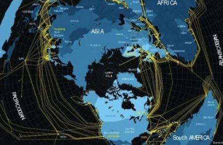 Harta care îţi arată cum a devenit internetul un fenomen global