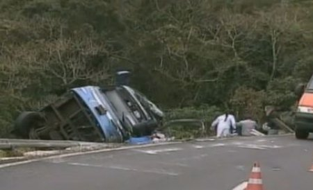 Grav accident de autocar în Mexic, soldat cu moartea a 26 de persoane