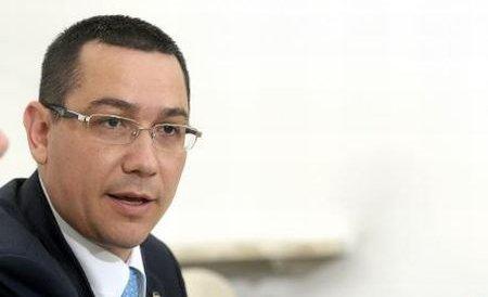 Ponta: Suspectez că Băsescu are surse ilegale pentru campanie, ca şi în 2009