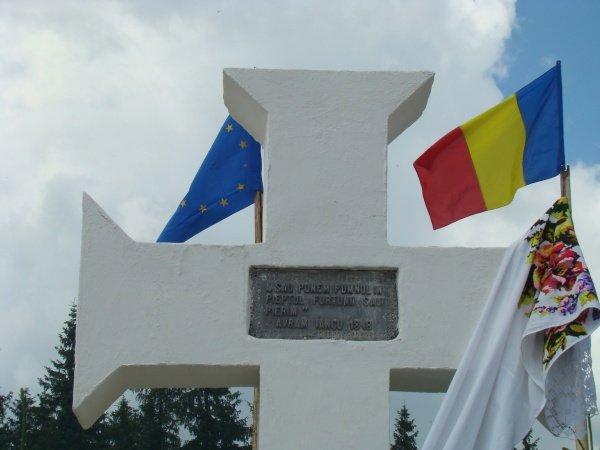 Marele paşoptist Avram Iancu, omagiat de mii de moţi la Crucea Iancului de la Mărişel