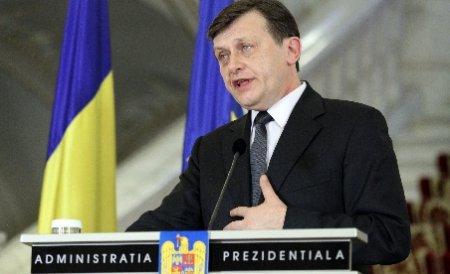 Antonescu: După plecarea lui Băsescu justiţia va face progrese spectaculoase în combaterea corupţiei