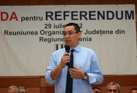 Ponta: Documentul publicat azi este doar o intoxicare tipică PDL de natură securistă