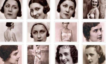 Rafinament, decenţă şi naturaleţe. O privire printre frumuseţile anilor `30. Cum arăta Miss România