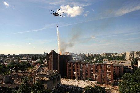 Bugetul M.A.I. a fost suplimentat pentru reparaţia elicopterelor folosite în calamităţi