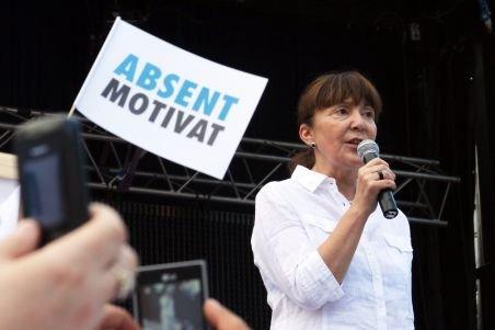 USL va depune plângere penală împotriva Monicăi Macovei pentru încălcarea legii referendumului