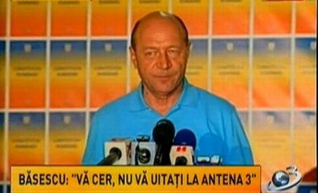 Care este motivul ascuns din spatele cererii lui Traian Băsescu de a nu vă uita la Antene