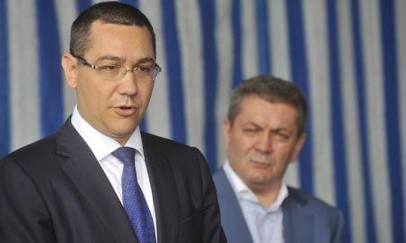 Ponta: Nu am reproşuri pentru Rus, Dobre, Marga. Vor fi în continuare piloni ai USL