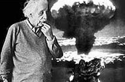 an introduction to the issue of american atomic bomb built by einstein Start studying unit 9 learn einstein thought that the atomic bomb would be to large be produced and stationed at airfields built on the.