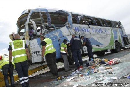 Accidentul rutier din Franţa: Primele persoane externate pleacă duminică seara spre ţară