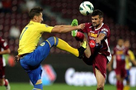CFR Cluj - Petrolul Ploieşti, scor 2-2, în Liga I. Cadu - autogol şi penalti ratat