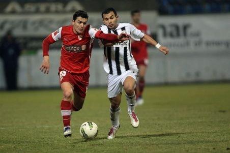 Dinamo, la prima înfrângere în Liga I. Astra a câştigat în ultimul minut datorită unui penalti
