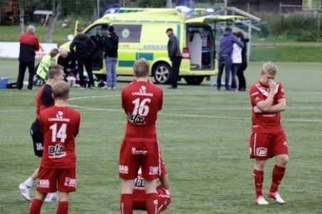 Doliu în fotbalul suedez. Un jucător de 29 ani a murit pe teren după ce a marcat un gol