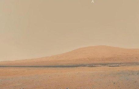 Iată ce vede robotul Curiosity pe planeta Marte