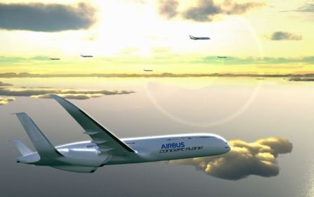 Conceptul revoluţionar propus de Airbus. Aeronava viitorului va avea un consum redus de combustibil