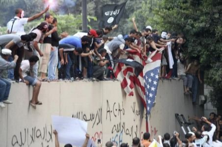 Alertă în ţările cu populaţie musulmană. Protestele antiamericane s-au răspândit în mai multe state arabe