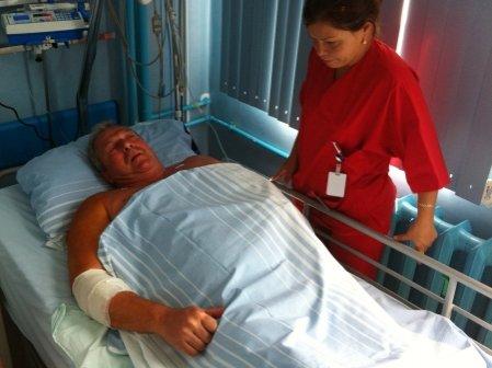 Duckadam - internat din nou în spital. Acesta a suferit săptămâna trecută o intervenţie chirurgicală