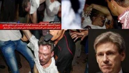 Imaginile care îi îngrozesc pe americani. Trupul ambasadorului ucis săptămâna trecută, târât de libieni