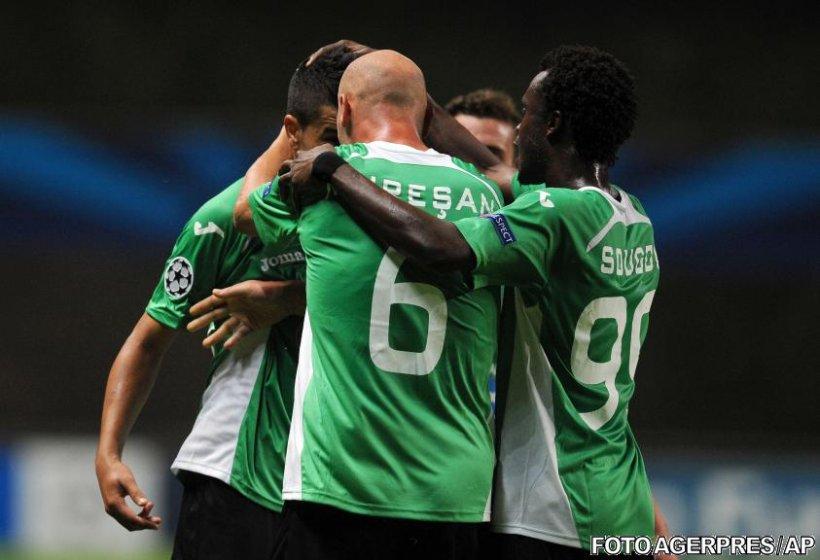 Început perfect pentru CFR Cluj în Liga Campionilor: Victorie cu 2-0 la Braga