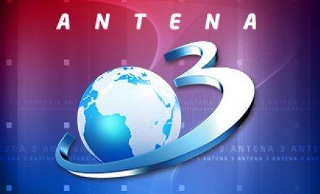 Antena 3, din nou în topul audienţelor