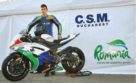 Motociclistul român Mircea Vrăjitoru a ieşit din coma indusă