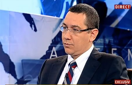 Ponta: Diaconescu a jucat o carte politică alături de PDL. Nimeni nu şi-a închipuit că va încălca atât de grav legea