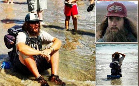 Forrest Gump există. El a traversat America pe jos, în 178 de zile