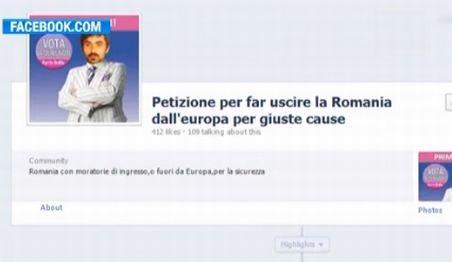 Xenofobia italienilor ia amploare: Petiţie pentru scoaterea României din UE