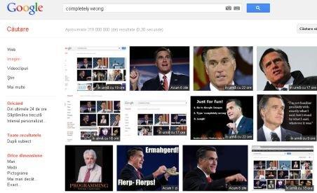 Cum sabotează Google campania electorală a lui Mitt Romney
