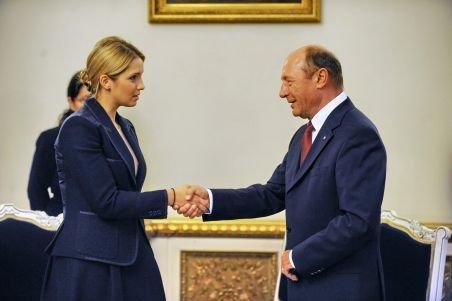 Băsescu îi transmite suportul total Iuliei Timoşenko, prin fiica acesteia