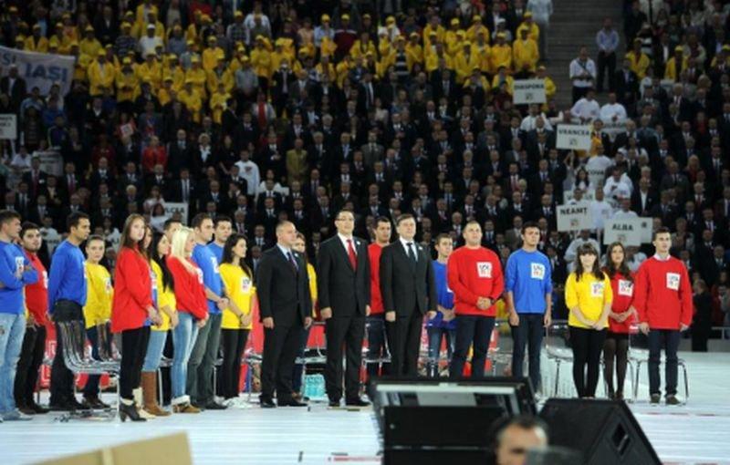 """MEGA-MITINGUL USL de la Arena Naţională: """"În Europa, fără poporul tău, eşti nimeni, sau eşti o slugă!"""""""