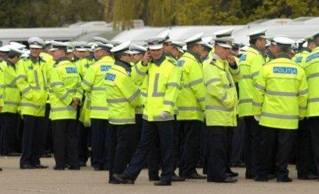 Peste 350 de poliţişti asigură ordinea publică la mitingul USL