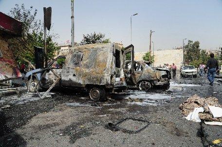 Damasc. Cel puţin zece persoane au fost ucise şi alte 15 rănite într-o explozie