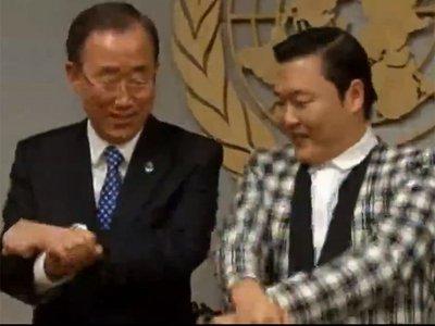 Secretarul general al ONU pe ritmuri GANGNAM STYLE. Cei mai faimoși sud-coreeni