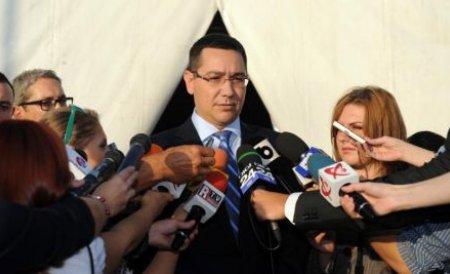 Ponta: Reluăm plăţile pentru proiectele din POSDRU în decembrie