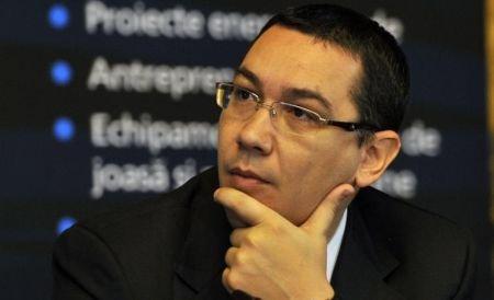 Premierul Victor Ponta se va întâlni astăzi cu omologul său italian, Mario Monti