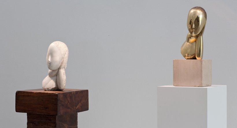 O sculptură semnată Constantin Brâncuşi, piesă centrală a unei licitaţii a casei Christie's