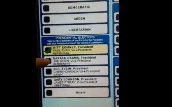 ALEGERI SUA. Ce se întâmplă dacă vrei să votezi cu Obama. Imaginile care au stârnit un scandal imens