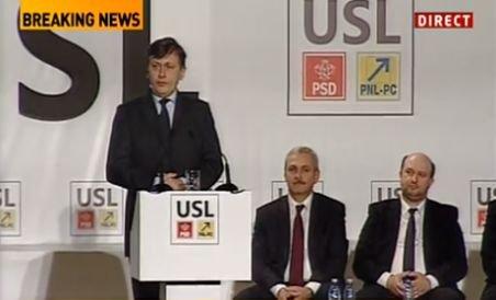 Crin Antonescu: România împreunează genii şi analfabeţi, oameni de caracter şi prostituaţi perpetui