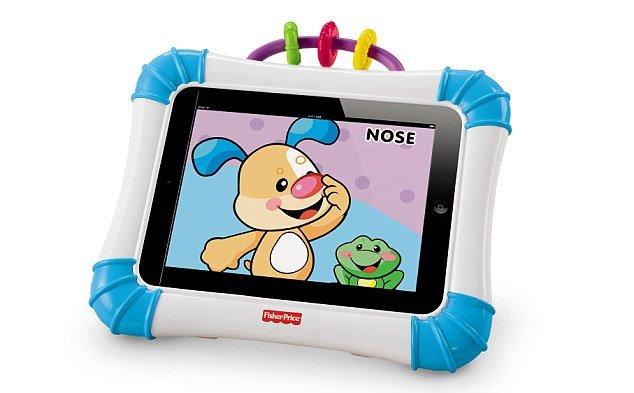 Niciodată prea mic pentru noua tehnologie. Iată cum se transformă iPad-ul în jucărie